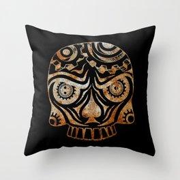 HCD Sugar Skull Throw Pillow