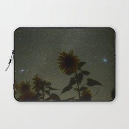 Sunflower milky way Laptop Sleeve