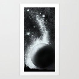 Nightrider - Fingerprint series Art Print