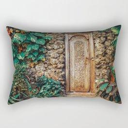 Garden door Rectangular Pillow