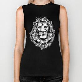 Lion (on dark) Biker Tank
