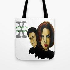 X-files 2 Tote Bag