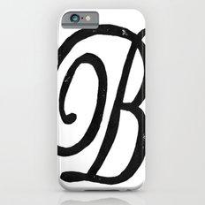 Monogrammed Letter B iPhone 6s Slim Case