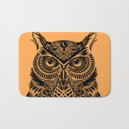 Warrior Owl 2 Bath Mat