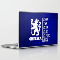 chelsea Laptop & iPad Skins featuring Theme Chelsea by Maxvtis