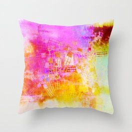 ..of my mind Throw Pillow