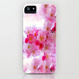 Cherry Blossom Tree So Pink iPhone Case