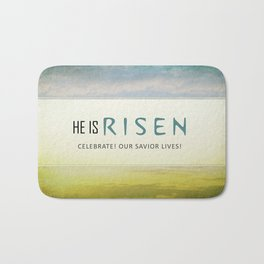 He is Risen Bath Mat