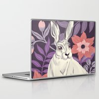 hare Laptop & iPad Skins featuring Hare by Abbie Imagine