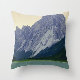 Nahanni National Park Poster Throw Pillow