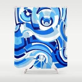 Seigaiha Series - Alliance Shower Curtain