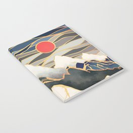 Ice Mountains Notebook