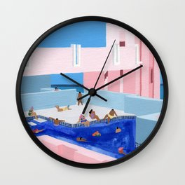 Spain Pool Wall Clock