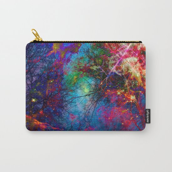 Colorful fiber  Carry-All Pouch