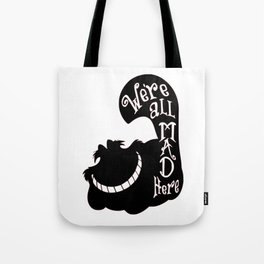 Alice Cheshire Cat Tote Bag