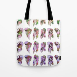 Starry Alphabet Tote Bag