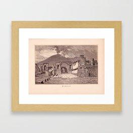 Pompeji Framed Art Print