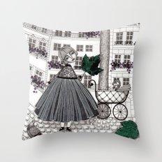 Hadessah's Leaf Throw Pillow