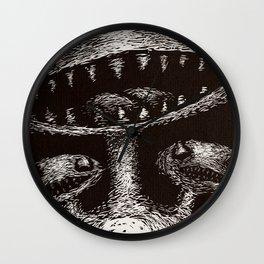 Gorus the Three Headed Monster Wall Clock
