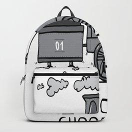 I choo-choo choose you! Backpack