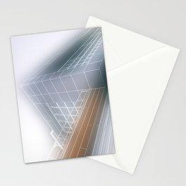 Minimalist architect drawing Stationery Cards