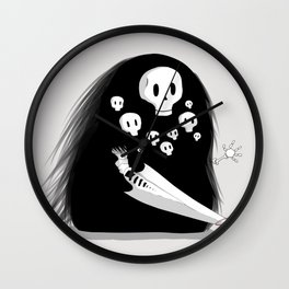 Gravelord Nito Wall Clock