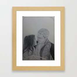 You found me Framed Art Print