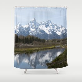 Grand Tetons and River Shower Curtain