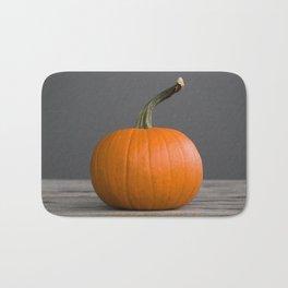 """""""Sugar Pie"""" Pumpkin no. 3 -- Still Life Squashes & Potirons Bath Mat"""