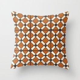 Floor Series: Peranakan Tiles 6 Throw Pillow