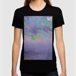Green, Blue And Purple (View Of London) - Joseph Pennell 1880-1926 T-shirt