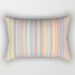 Color grid Rectangular Pillow