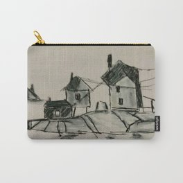 Houses by the sea Carry-All Pouch