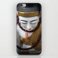 buddha iPhone & iPod Skins featuring Buddha by Maria Heyens