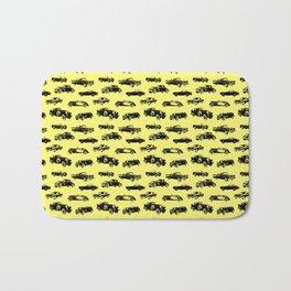 Classic Cars // Yellow Bath Mat