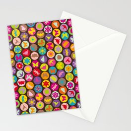 bugs 'n flowers Stationery Cards