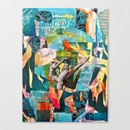 La Danse du Printemps (The Dance of Spring) Canvas Print