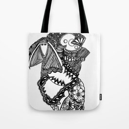 Laughter (abstract) Tote Bag