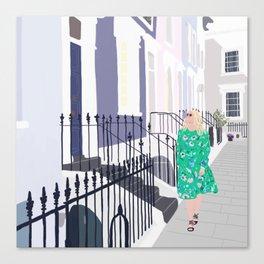 Notting Hill No. 1 Canvas Print
