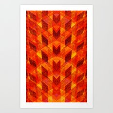 crafty 2 Art Print