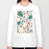 nausicaa Long Sleeve T-shirts featuring Nausicaa by Carly Watts