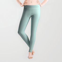 Cool Caddy ~ Pale Green Leggings