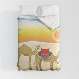 Exodus, Camels in the Desert, Passover Comforters