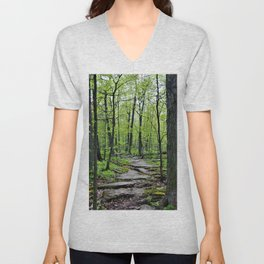Lead and I will Follow You into the Woods by Reay of Light Unisex V-Neck