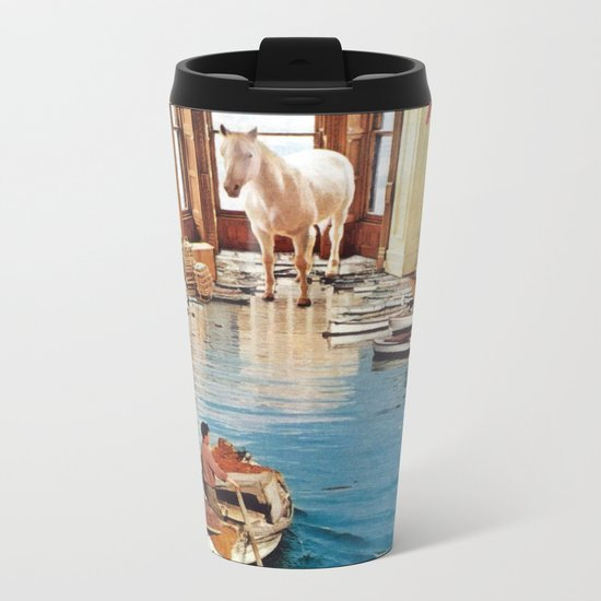 Is There A Prize at the End of All This Metal Travel Mug