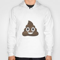 poop Hoodies featuring Whatsapp - Poop by swiftstore