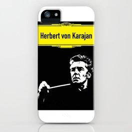 Herbert von Karajan iPhone Case