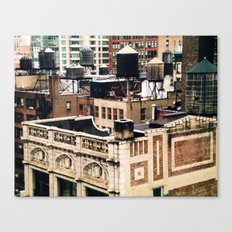 Midtown Water towers Canvas Print