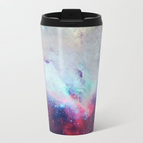 When the Universe Shine Metal Travel Mug
