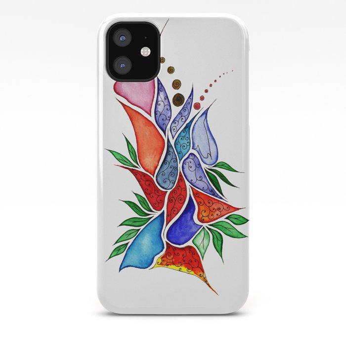 Flower6 IPhone Case By Gosiaandhelena